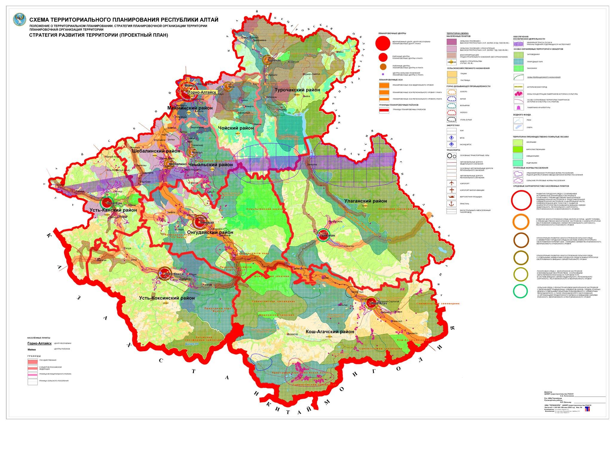 Проект схемы территориального планирования энергетики