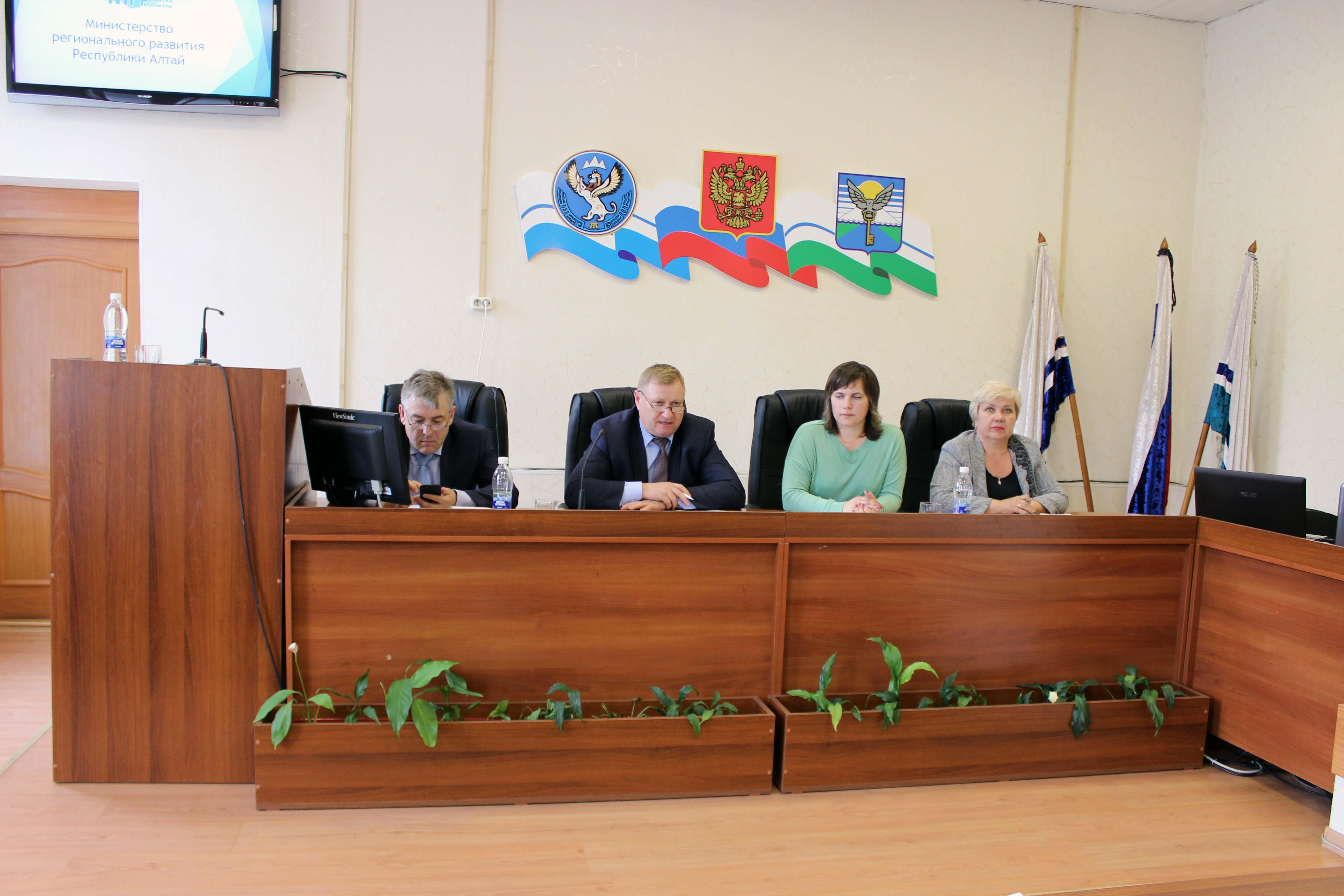 11 мая 2017 года состоялось заседание коллегии Министерства регионального развития Республики Алтай